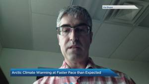 Arctic climate warming at faster pace than expected