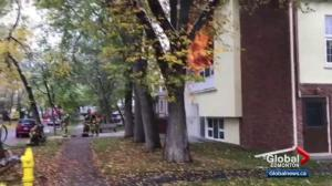 EPS arson unit investigates north Edmonton church fire