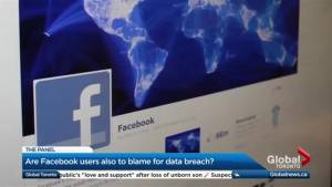 Are Facebook users also to blame for the data breach? (05:05)