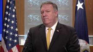 U.S. will continue to provide humanitarian aid to Iran despite sanctions, Pompeo says