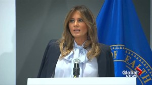 First Lady sends message about cyberbullying