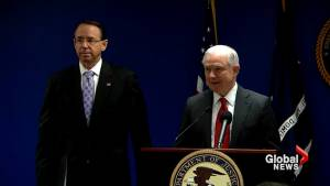 Sessions appoints Rosenstein to lead task force on transnational organized crime
