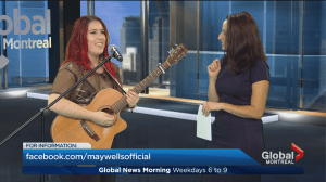 Quebec singer-songwriter May Wells