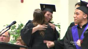 Special high school graduation for at-risk youth in Richmond Hill (01:58)