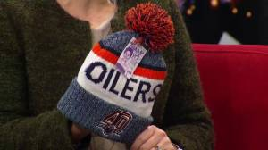 Hockey fights Cancer: Special Edmonton Oilers toques being sold at Rogers Place