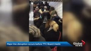TTC discusses fare hike same day as massive subway delays