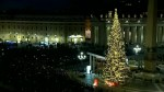 Vatican unveils Christmas tree