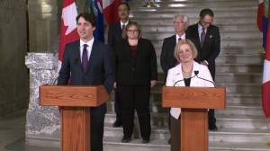 Justin Trudeau discusses ways federal government will help Alberta