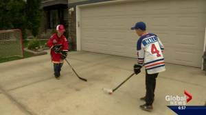 """Young hockey fans face off in a new """"Battle of Alberta"""""""