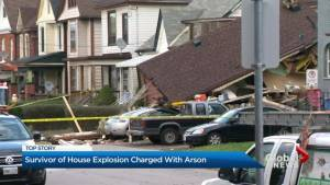 Home owner charged with arson for Hamilton house explosion