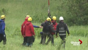 Kids rescued from Burke Mountain in Coquitlam