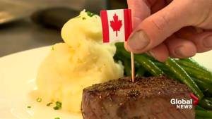 Canadian beef is back on the menu at earls Lethbridge (02:01)