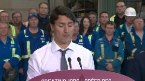 Trans Mountain expansion will create thousands of jobs: Trudeau