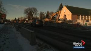 LRT construction frustrates some Strathearn residents