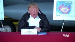 'Epic flooding': Trump tours flood ravaged North Carolina after Hurricane Florence