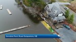 Gondola Point Road flooding
