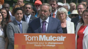 Thomas Mulcair makes his pitch for raising corporate taxes