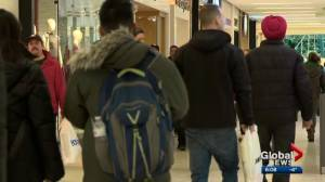 Edmonton stores busy on last Friday before Christmas