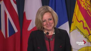 Notley comments on Alberta unleashing economic consequence on B.C.