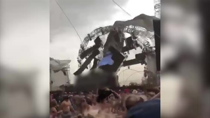 YO DJ Dies After Stage Collapses In Severe Weather At EDM Festival