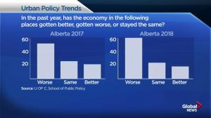 University of Calgary economic attitudes study