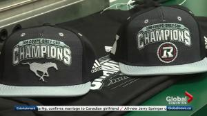 Adidas prepares 2 versions of 'Grey Cup Champions' swag