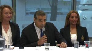 Mohamed Fahmy thanks supporters following long journey back to Canada