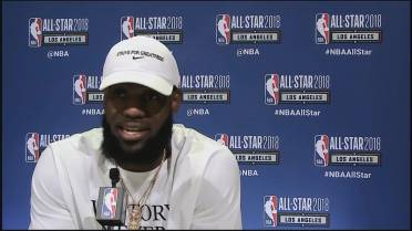 I will not just shut up and dribble': LeBron James fires