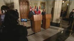Tillerson discussing North Korea on first trip to Canada