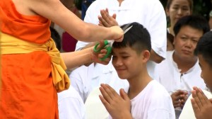 What members of the Thai soccer team will have to do to become monks
