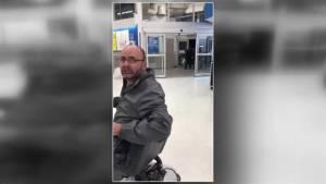 Video shows racist exchange inside Edmonton supermarket