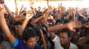 Rohingya in Bangladesh protest efforts to send them back to Myanmar