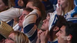 Fans hopes crushed after Leafs eliminated from Stanley Cup playoffs