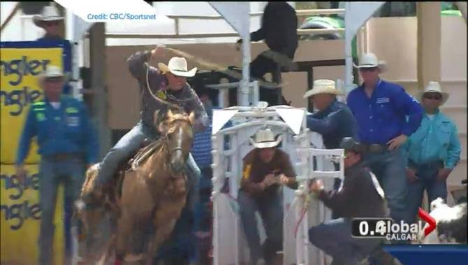 Stampede Roper Disqualified For Whipping Horse Globalnews Ca