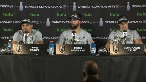 Vegas Golden Knights discuss journey to Stanley Cup Final