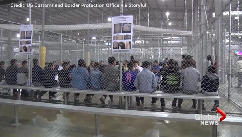 Over 100 migrant children returned to 'horrific' border station