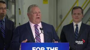 Doug Ford outlines details of Scarborough subway extension