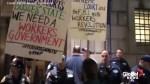 Anti-Kavanaugh protest makes it's way through New York City