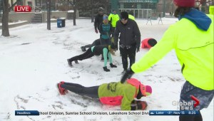November Project Winnipeg: Exercise Demonstration