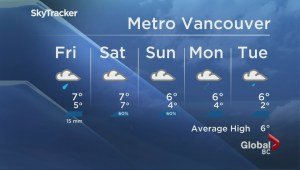 BC Evening Weather Forecast: Jan 4