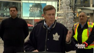 Toronto Mayor John Tory says new cleanup initiative about creating 'good experience' for downtown