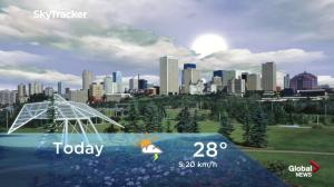 Edmonton early morning weather forecast: Wednesday, August 1, 2018