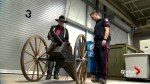 Wild west showman reunited with stolen replica cannon