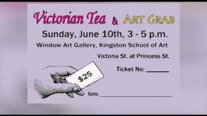 A preview of the Victorian Tea and Art Grab