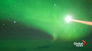 Timelapse video captures aurora australis, also known as 'Southern Lights' above Antarctica