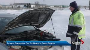 Auto shops, tow trucks swamped during cold snap