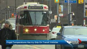 Extreme cold causes Toronto transit challenges