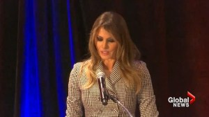 Melania Trump gives thanks, wishes good luck to U.S. athletes at Invictus Games