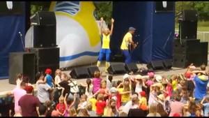 Peterborough Folk Festival entertains record crowds