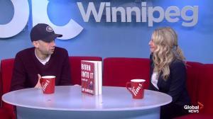 Jay Baruchel stops by Global News Morning Winnipeg